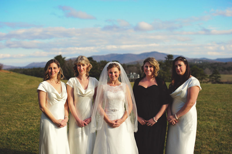 Biltmore Estate Wedding: bridesmaids