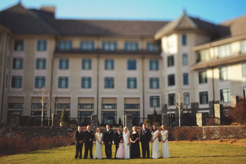 Biltmore Estate Wedding: bridal party