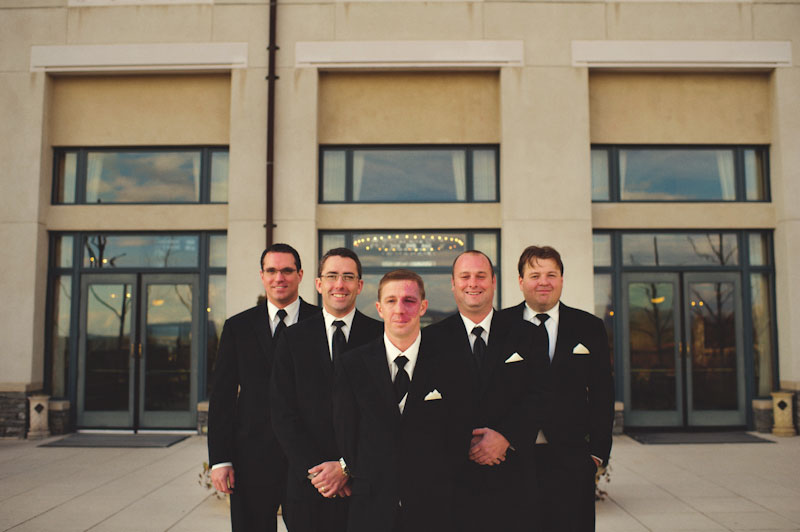Biltmore Estate Wedding: groomsmen