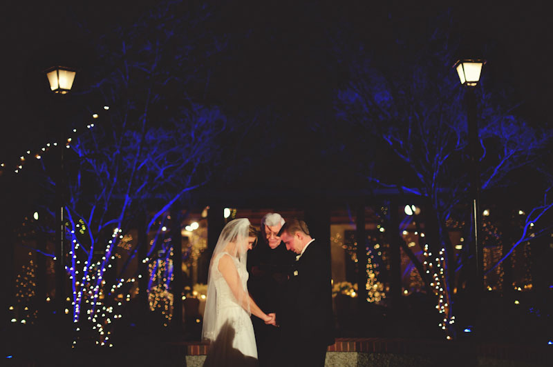Biltmore Estate Wedding: prayer