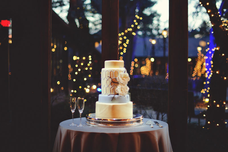 Biltmore Estate Wedding: wedding cake