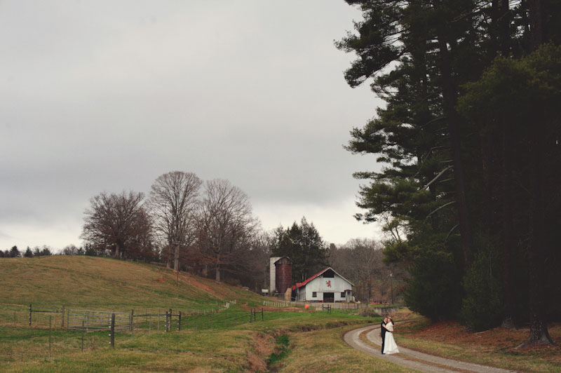 Biltmore Estate Wedding: bride and groom artistic photography
