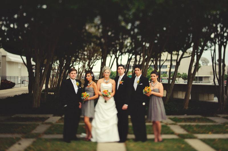 Kiley Garden: bridal party