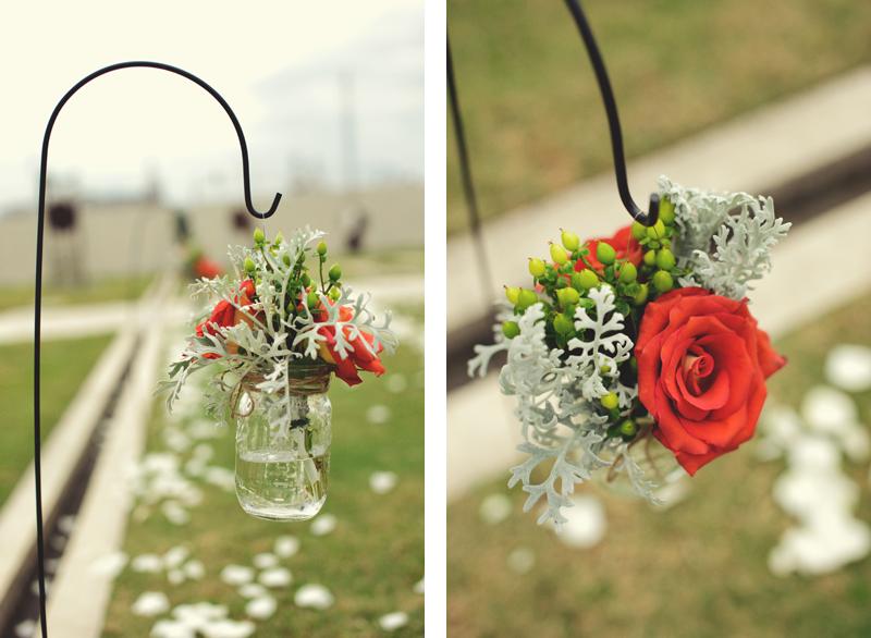 Kiley Garden: ceremony flowers