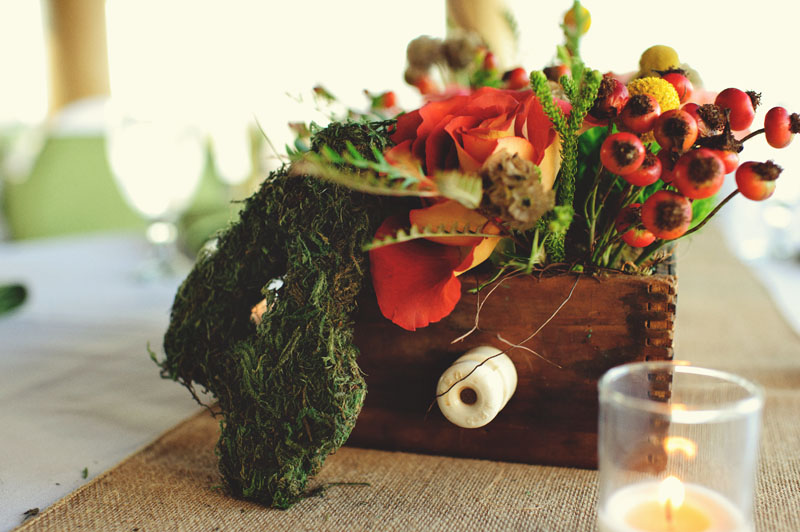 vintage moss table numbers