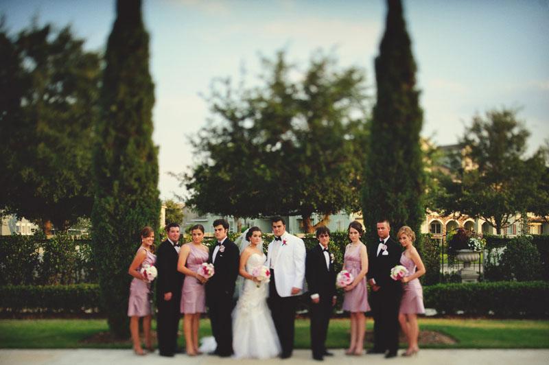 Palmetto Club Wedding: bridal party