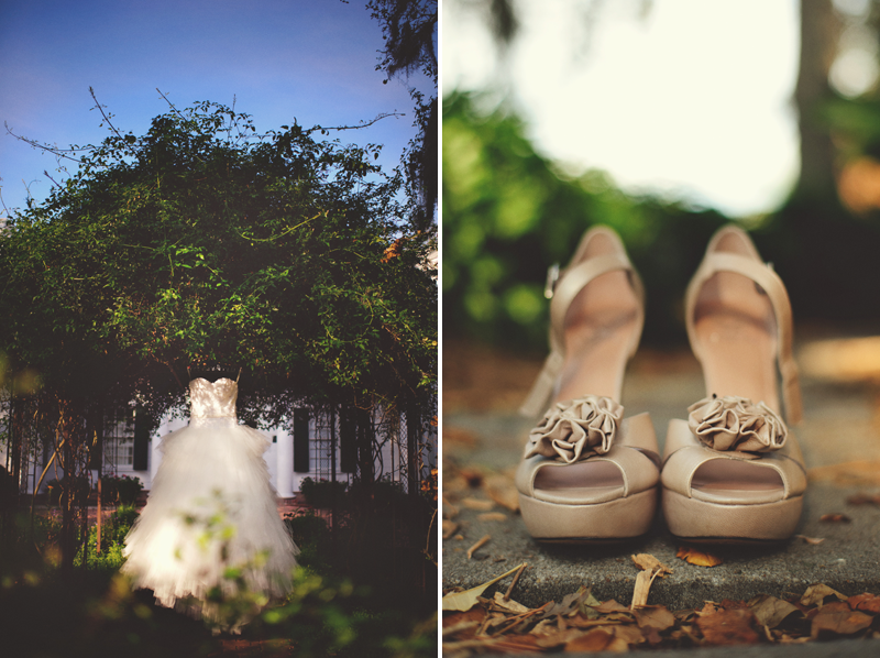 Selby Gardens Wedding: shoes
