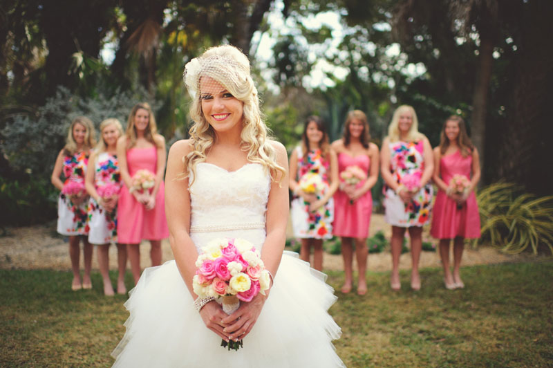 Selby Gardens Wedding: girls