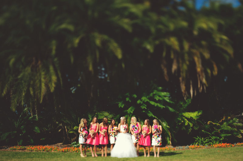 Selby Gardens Wedding: bridesmaids