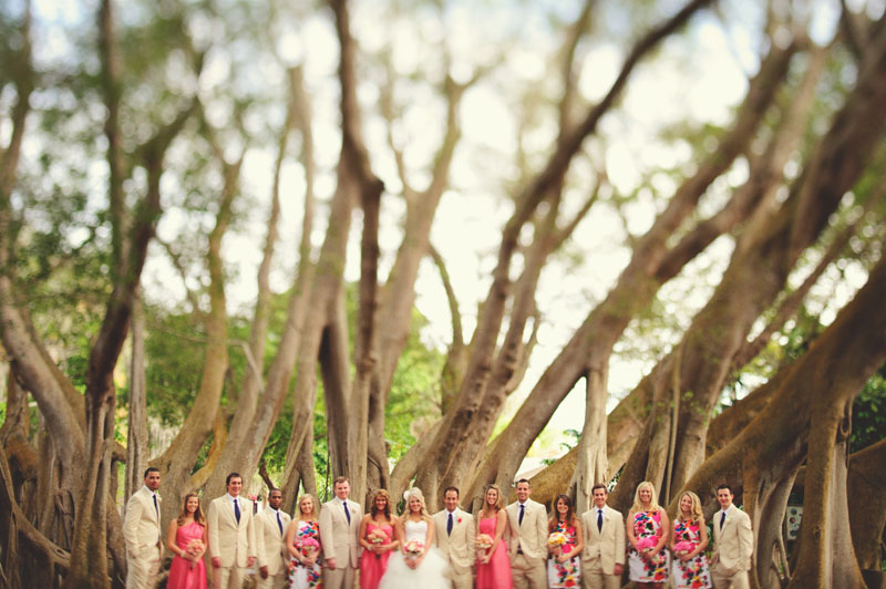 Selby Gardens Wedding: bridal party