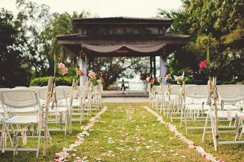 Selby Gardens Wedding: ceremony site