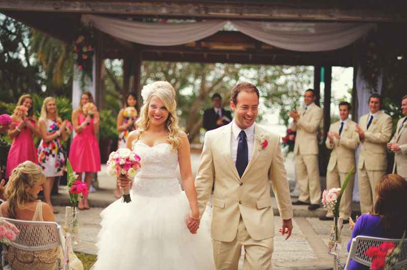 Selby Gardens Wedding: precessional