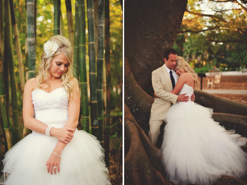 selby gardens wedding: Bridal porraits