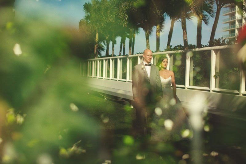 w hotel ft lauderdale wedding: reflection