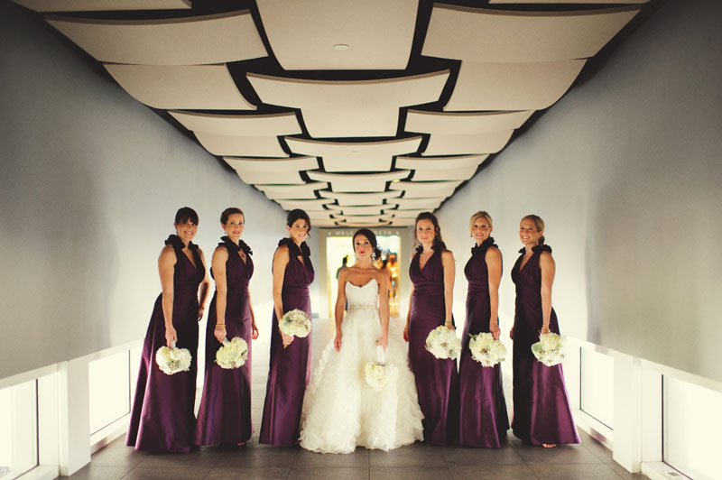 w hotel ft lauderdale wedding: bridesmaids