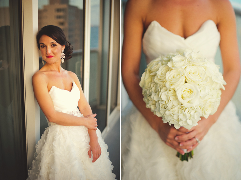 w hotel ft lauderdale wedding: bouquet