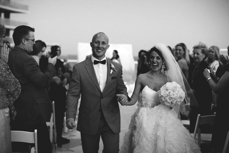 w hotel ft lauderdale wedding: precessional