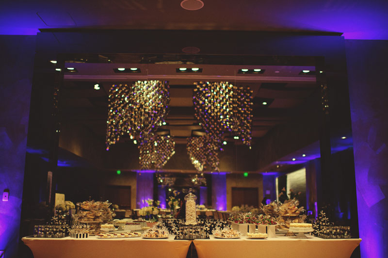 w hotel ft lauderdale wedding: candy table