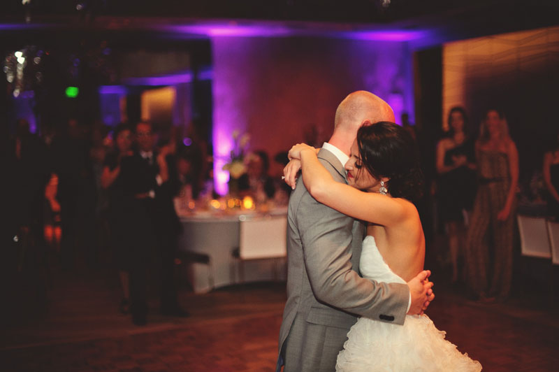 w hotel ft lauderdale wedding: first dance