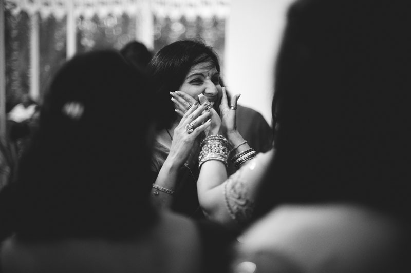 mehndi ceremony: smiling guest