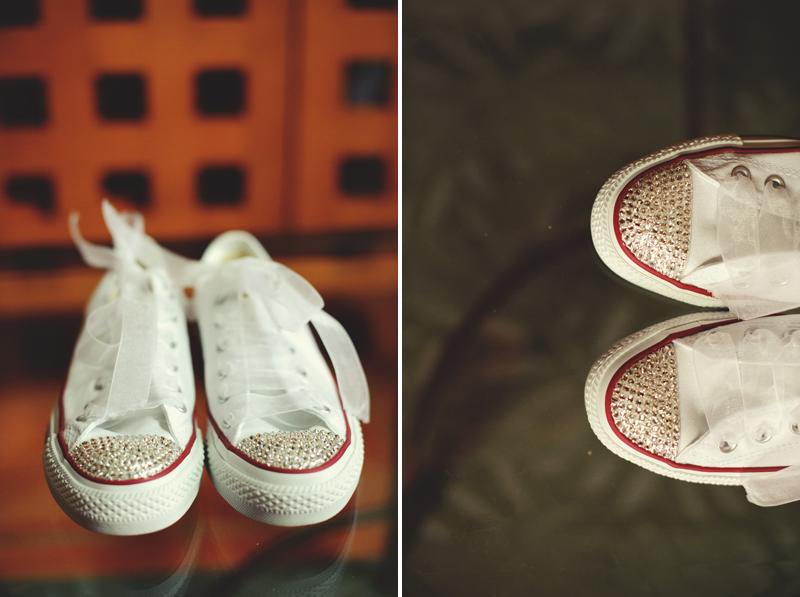 converse bridal shoes