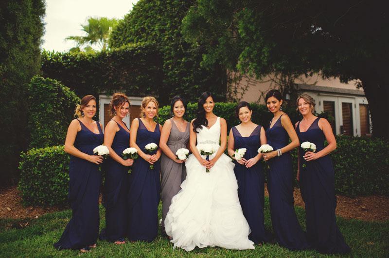 grand hyatt tampa bay wedding: bridesmaids