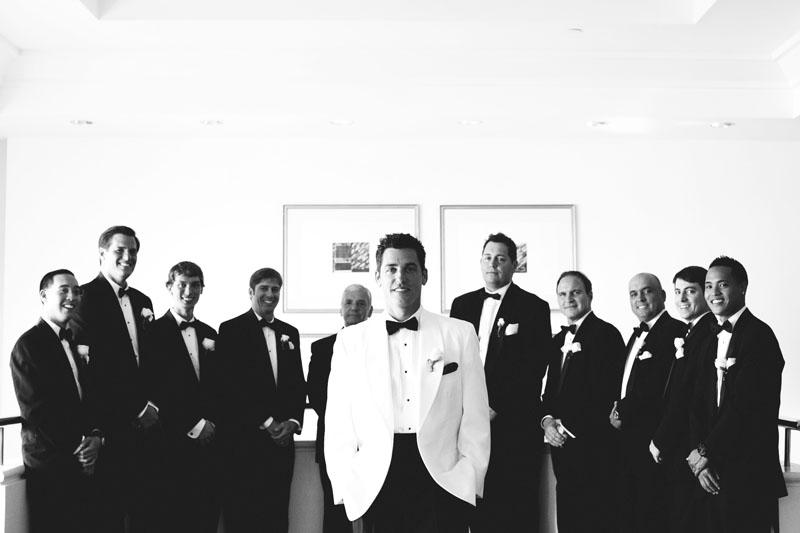 grand hyatt tampa bay wedding: groomsmen