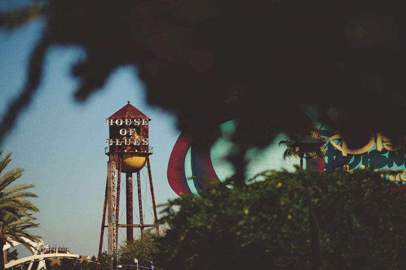 House of Blues Wedding: water tower