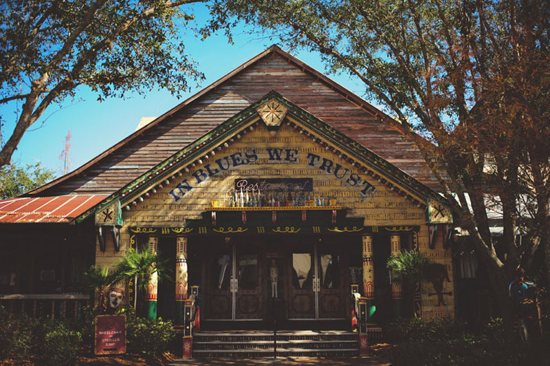 House of Blues Wedding: front entrance