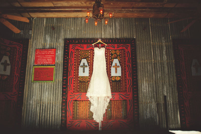 House of Blues Wedding: dress