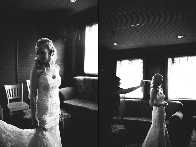 House of Blues Wedding: bridals
