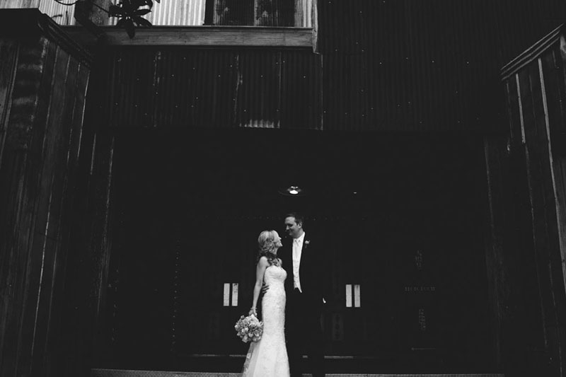 House of Blues Wedding: bride and groom
