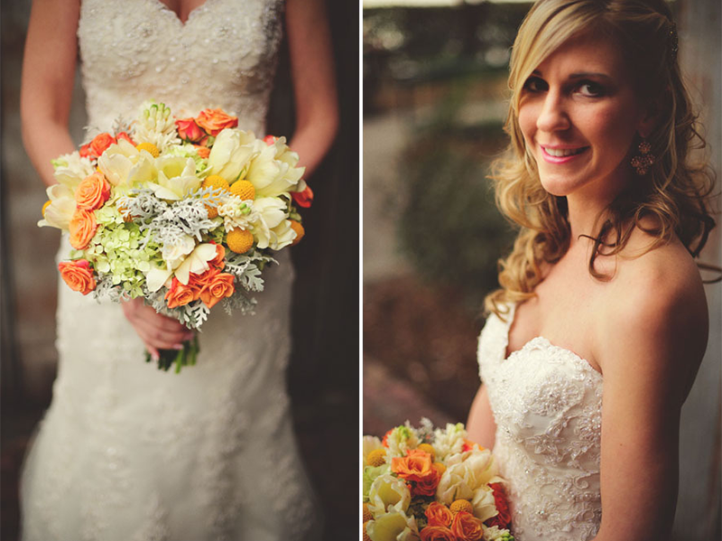 Botanica bridal bouquet House of Blues Wedding: