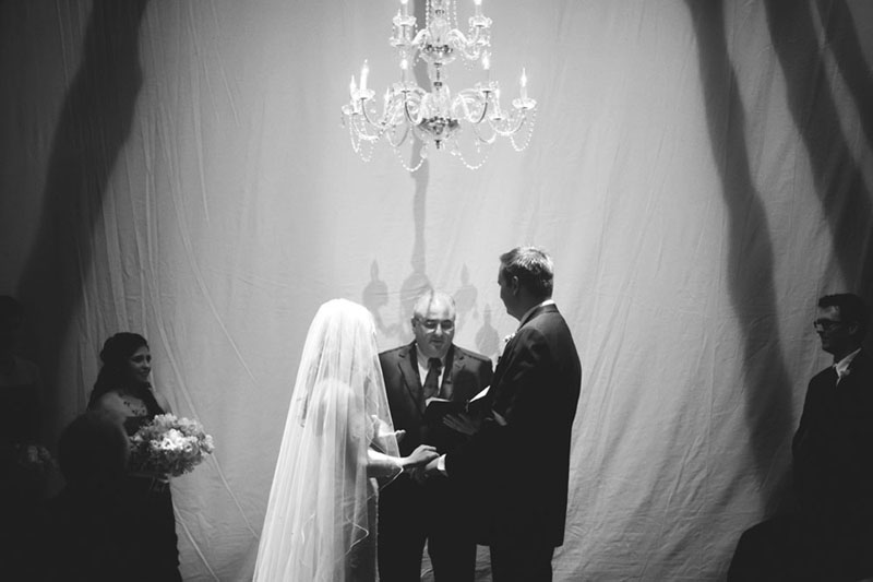 House of Blues Wedding: ceremony
