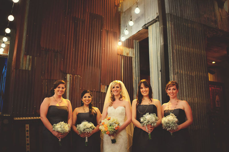 House of Blues Wedding: bridesmaids