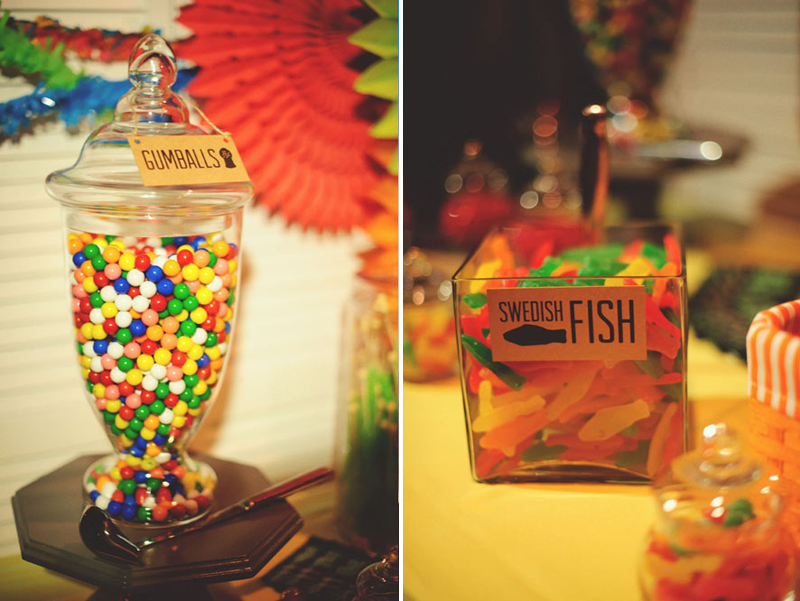 House of Blues Wedding: candy table