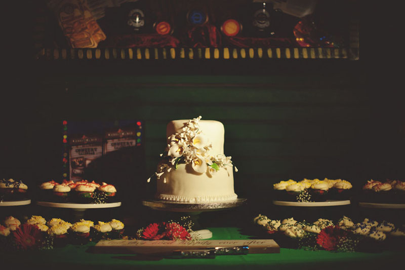 House of Blues Wedding: cake