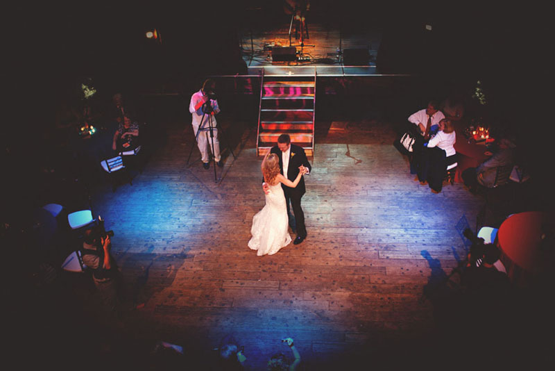 House of Blues Wedding: first dance