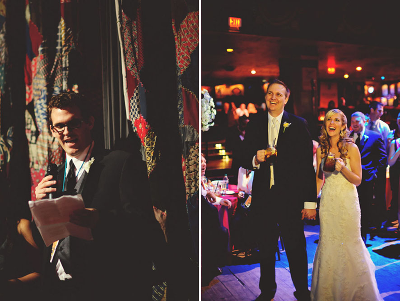 House of Blues Wedding: best man toast