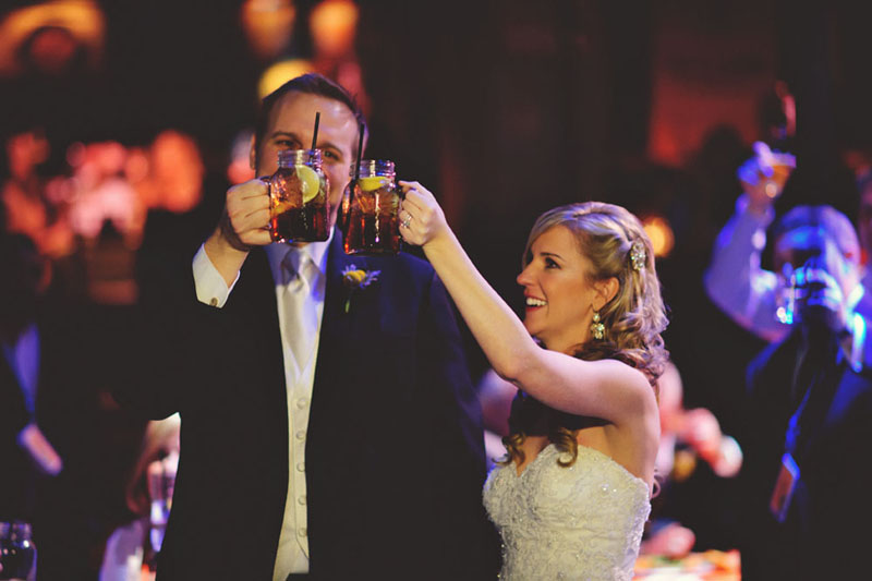 House of Blues Wedding: cheers