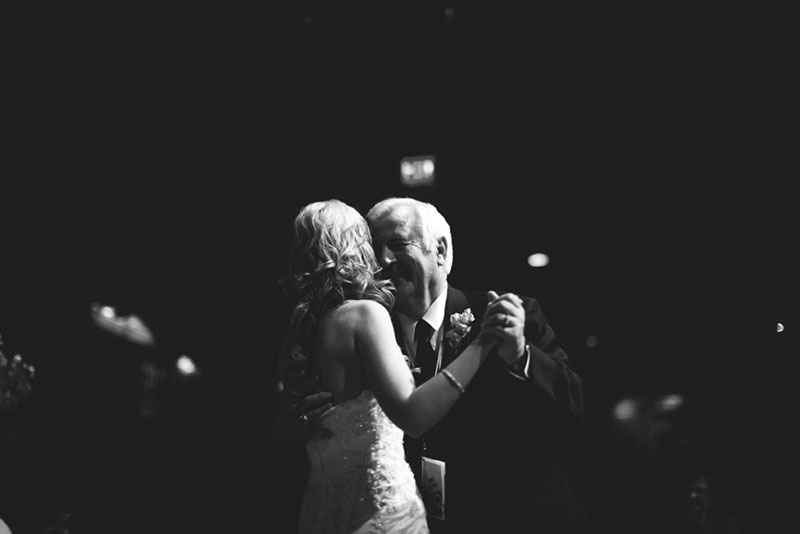 House of Blues Wedding: father daughter dance