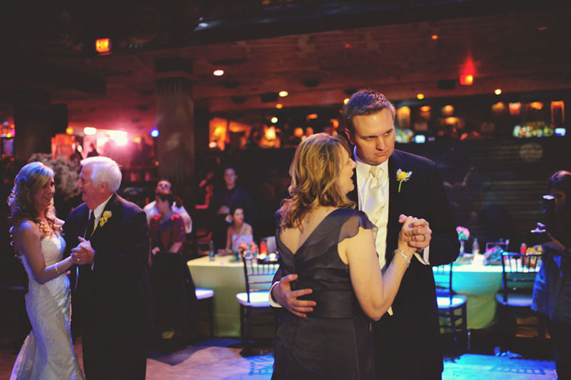 House of Blues Wedding: mother son dance