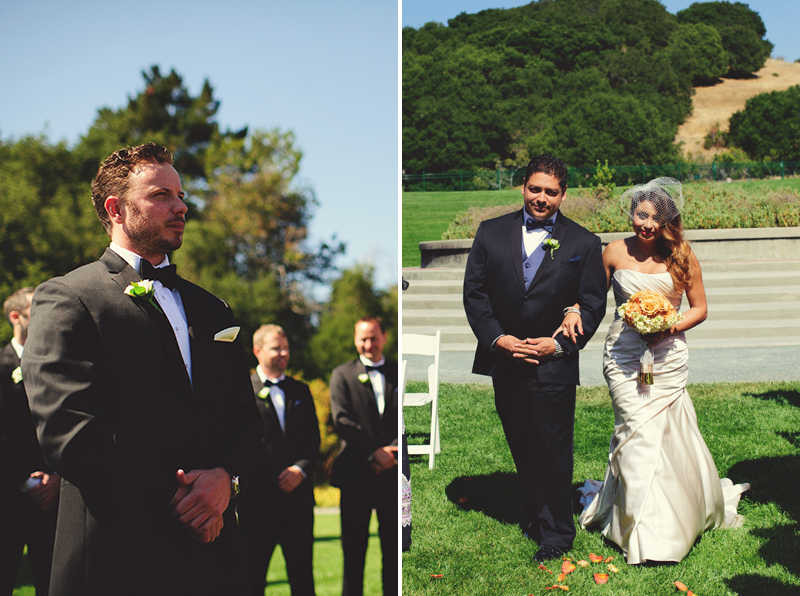 pulgas water temple wedding: first look