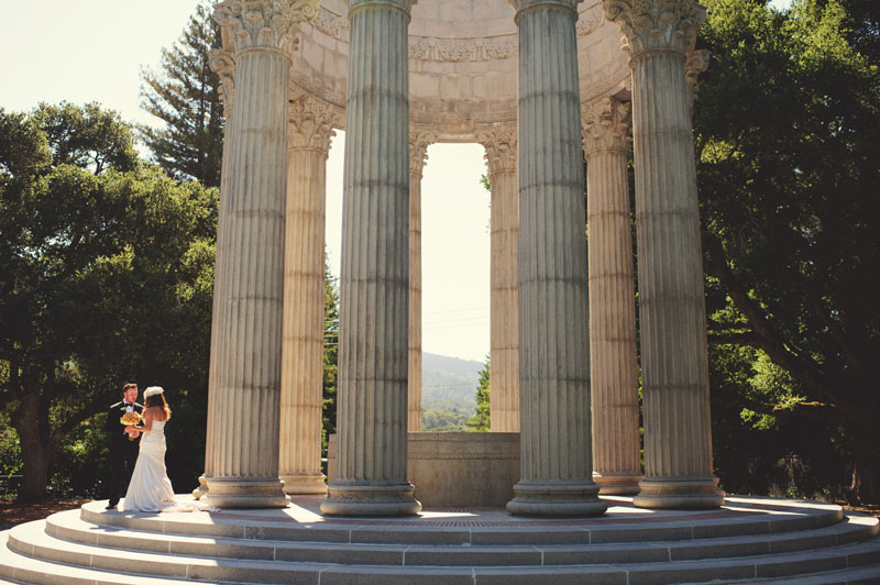 pulgas water temple wedding: portraits