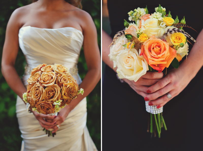 pulgas water temple wedding: bouquet