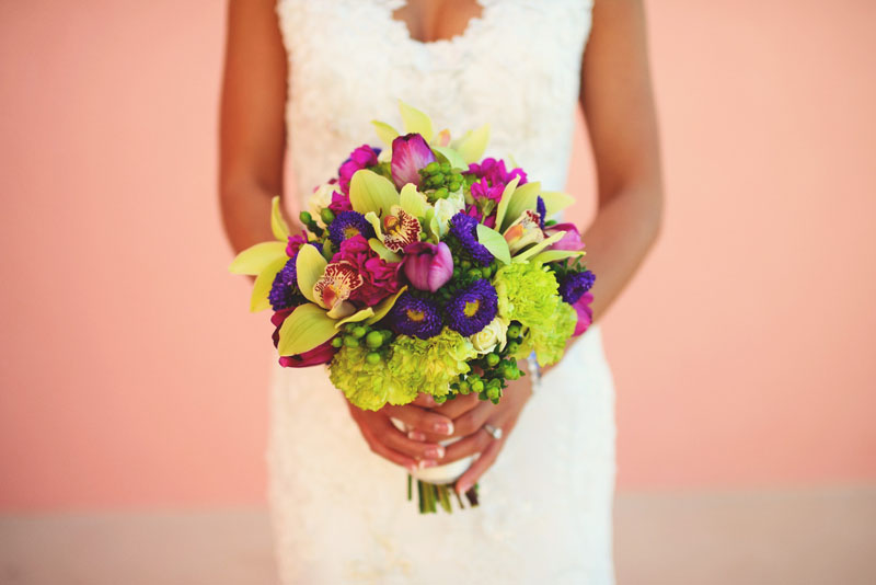 hyatt clearwater wedding: bouquet