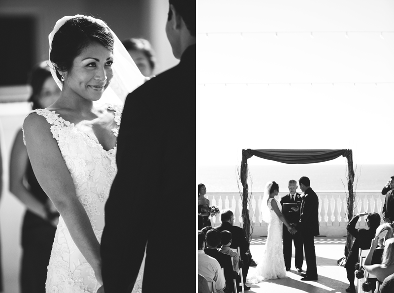 hyatt clearwater wedding: ceremony