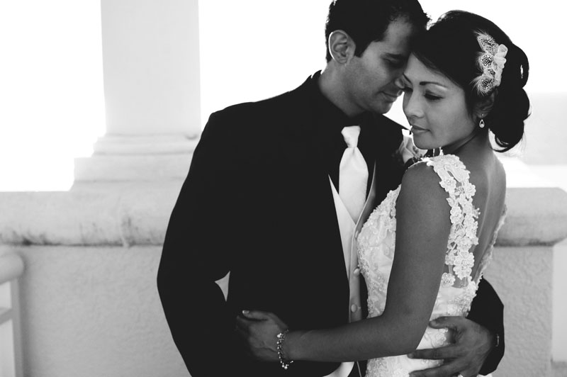 hyatt clearwater wedding: romantic