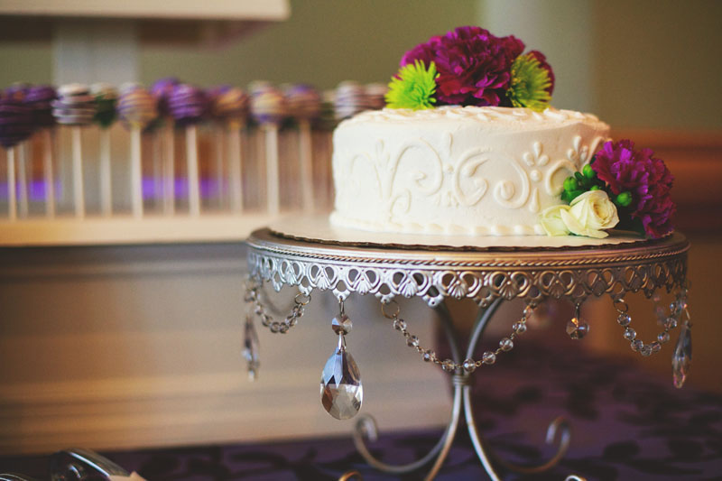 hyatt clearwater wedding: cake