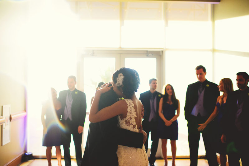 hyatt clearwater wedding: first dance